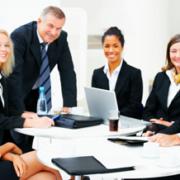 business meeting staff