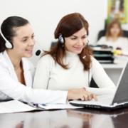 laptop staff calling