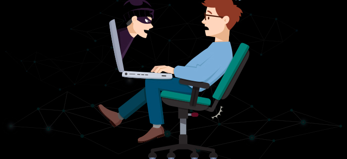 hacker laptop